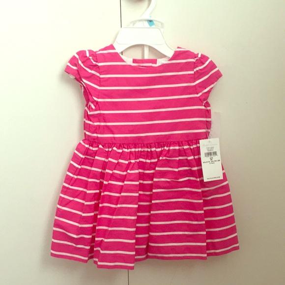 866b9ac5 Ralph Lauren Pink Stripped Dress 6 M Baby Girl NWT